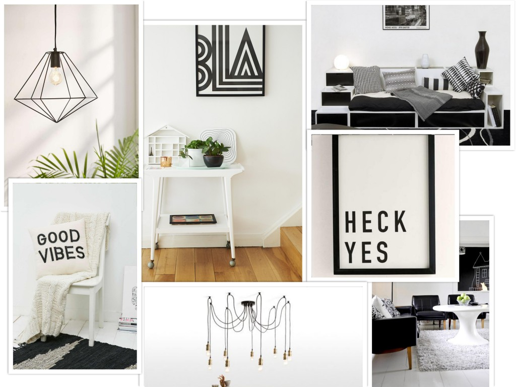 Interior Trend:  black & white
